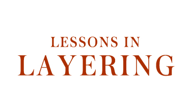 Lessons in layering